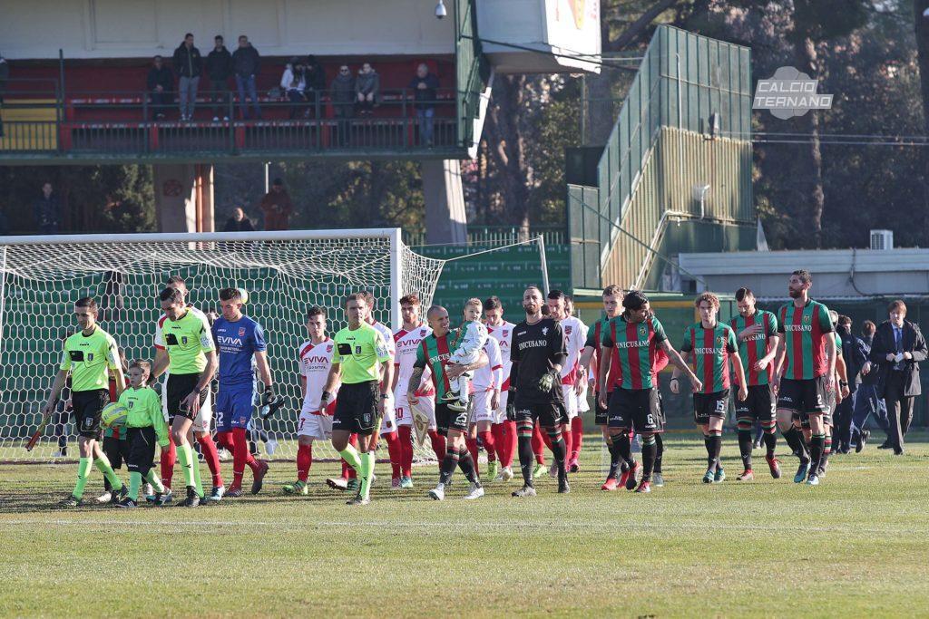 Lega Pro Girone B Rimini-Ternana, le formazioni ufficiali