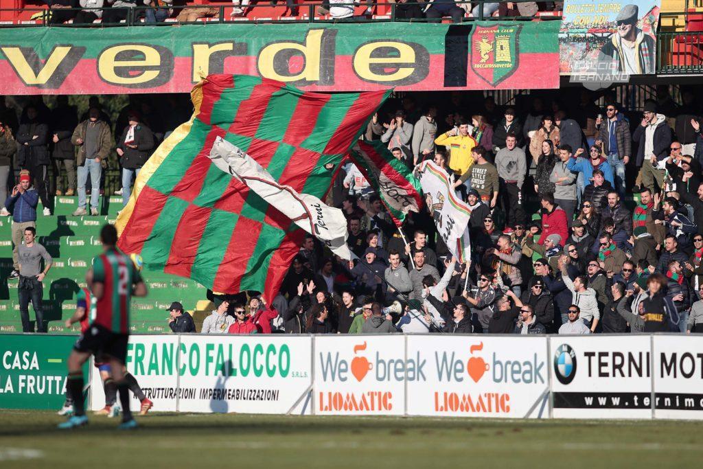 Lega Pro Rimini-Ternana ufficiale, dato dei biglietti venduti ai tifosi rossoverdi