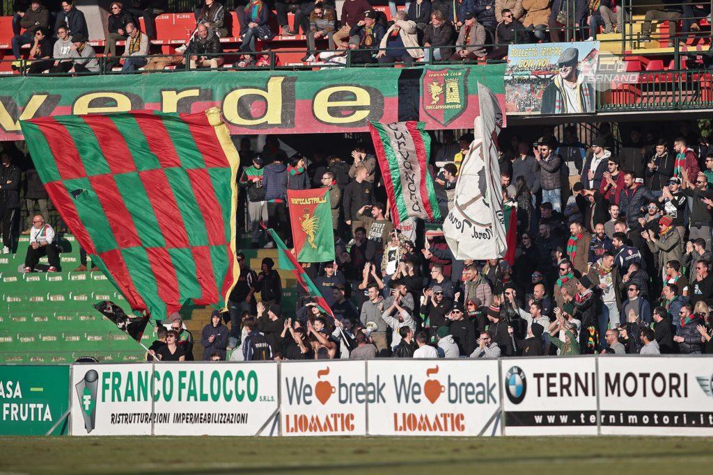 Lega Pro Ternana-Fano, la diretta del match