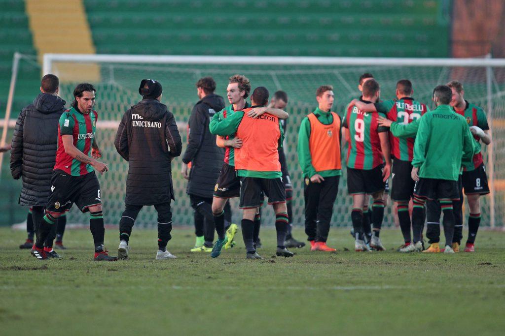 Lega Pro Ternana-Fano, le formazioni ufficiali