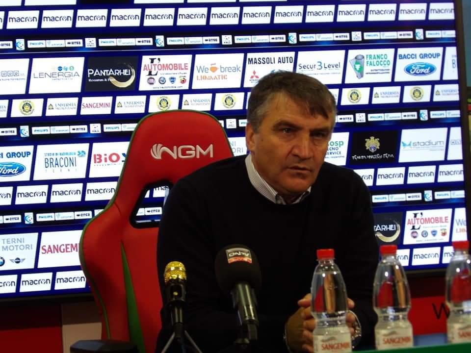 Lega Pro Girone B Rimini-Ternana, salta la conferenza di Luigi De Canio