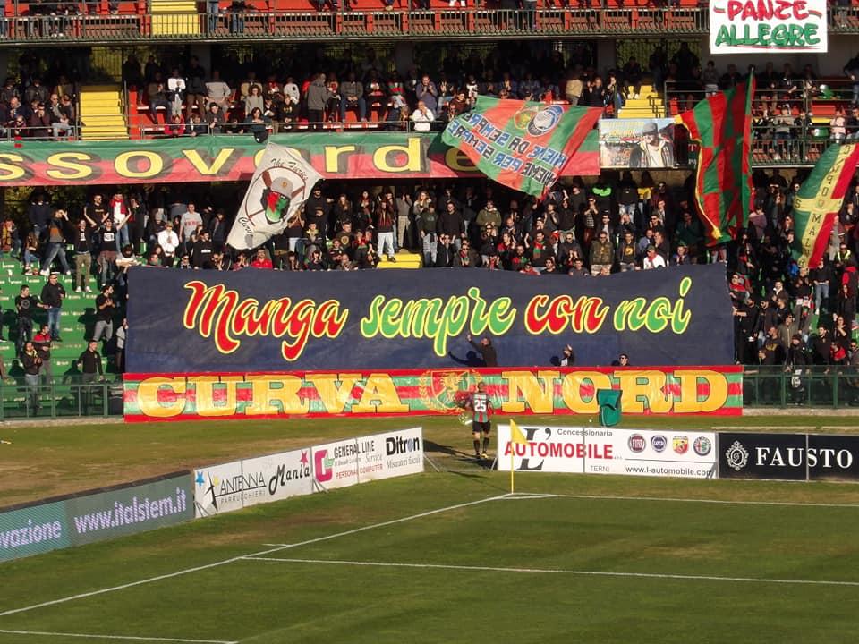 Lega Pro Girone B Ternana-Rimini, i convocati rossoverdi