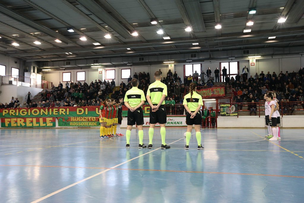 Ternana Celebrity-Lazio 7-9, sconfitta casalinga per le Ferelle