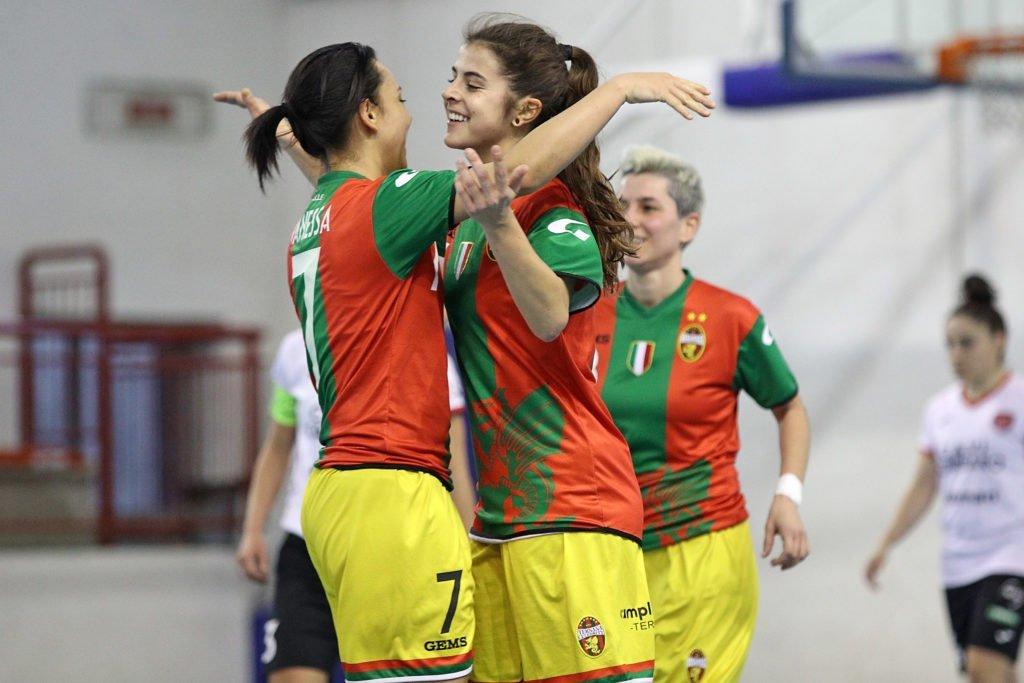 Ternana Celebrity-Futsal Breganze 5-1, rossoverdi dominanti