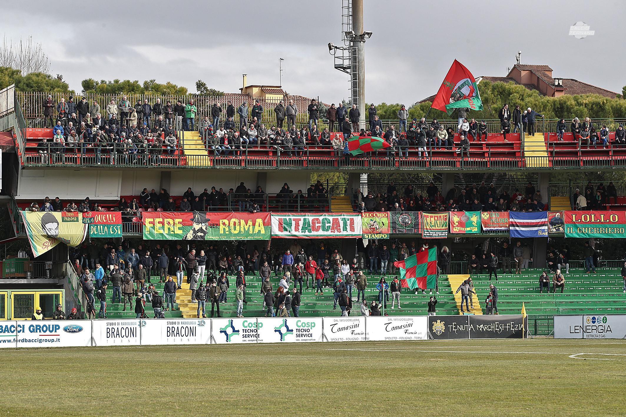 Lega Pro Ternana-Vis Pesaro, la diretta del match