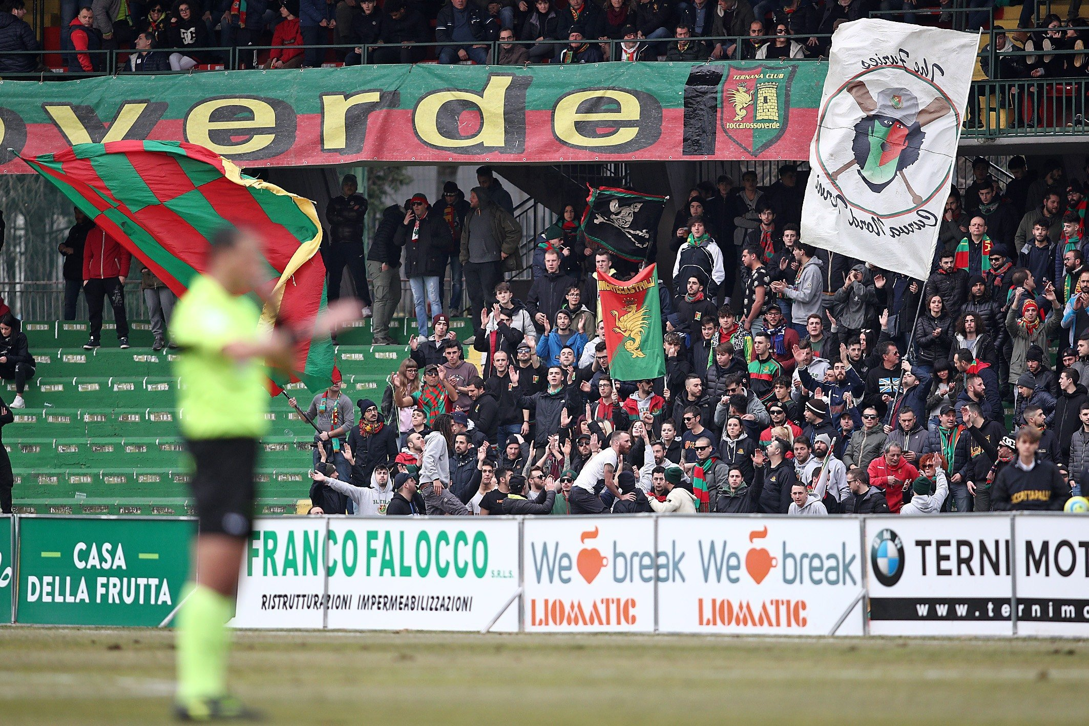 Lega Pro Ternana-Vis Pesaro, l'arbitro del match