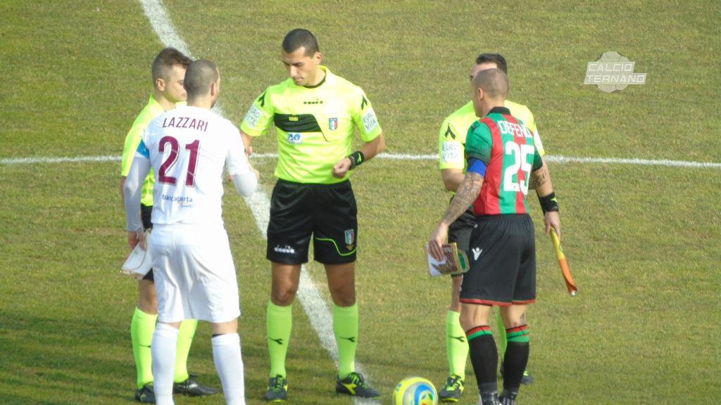 Lega Pro Ternana-Monza, l'arbitro della partita