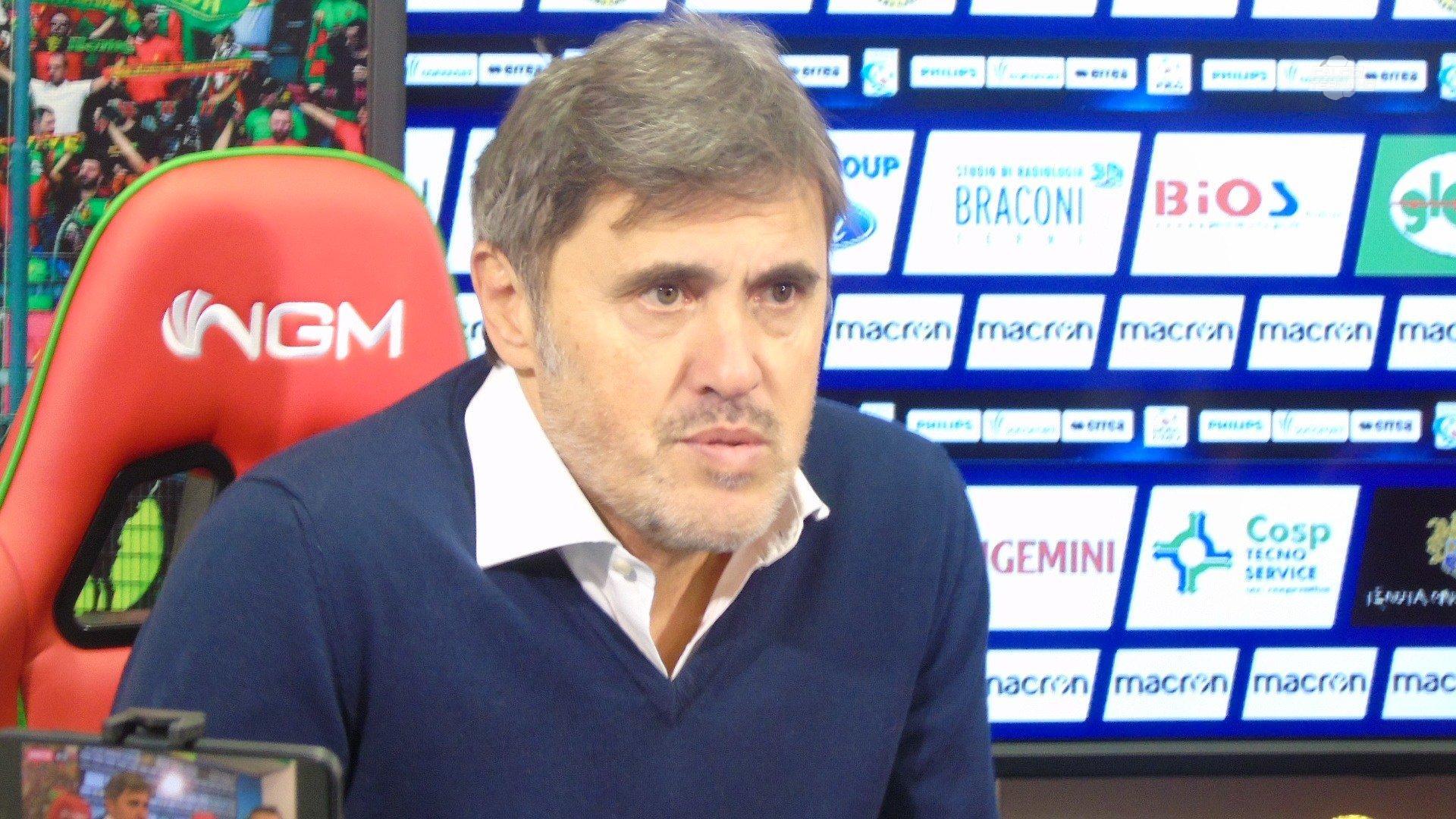 Ternana, la diretta della conferenza stampa di Alessandro Calori
