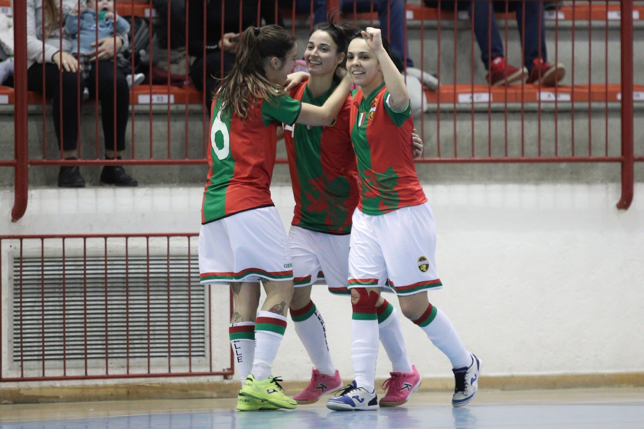 Woman Napoli-Ternana 1-9, altra goleada delle rossoverdi