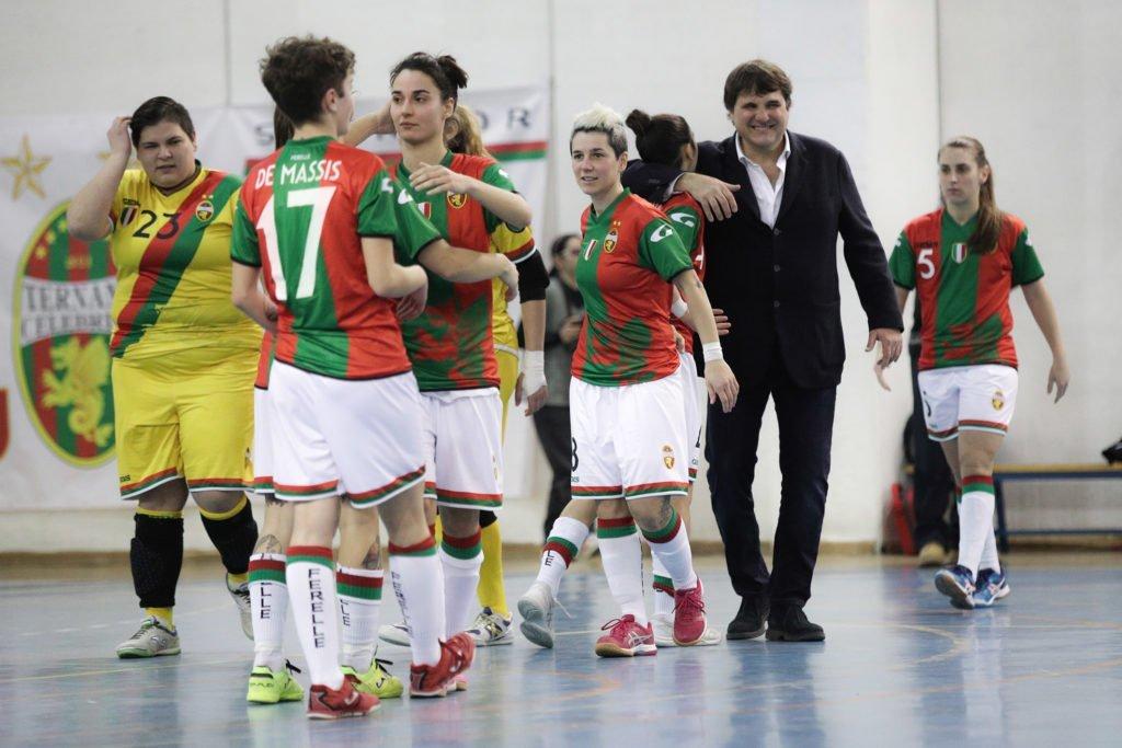 Futsal Salinis-Ternana calcio femminile 3-1, l'ex Tardelli ferma le rossoverdi