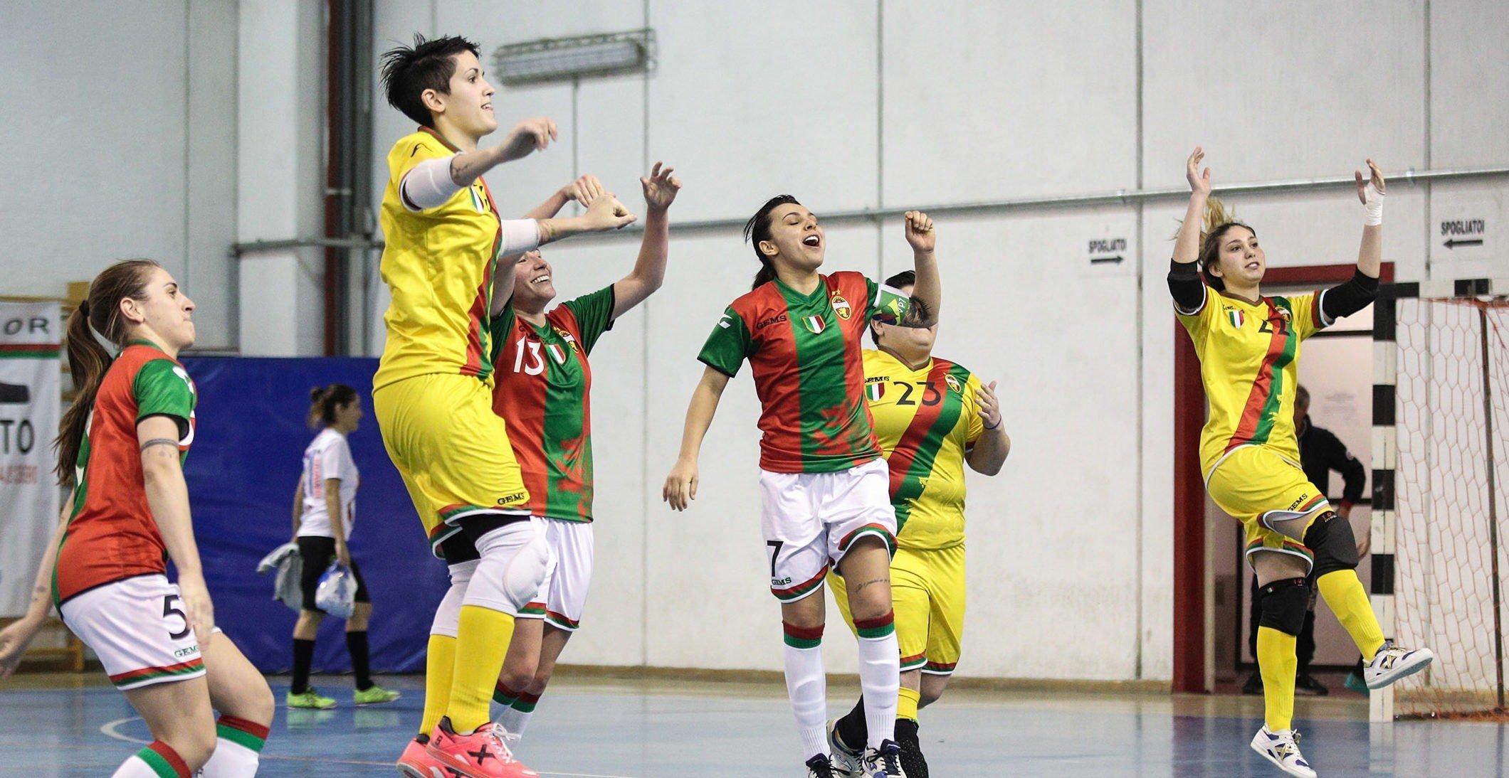 ternana celebrity femminile calcio a 5