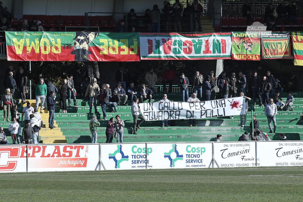 Sambenedettese-Ternana, dato biglietti venduti ai tifosi rossoverdi