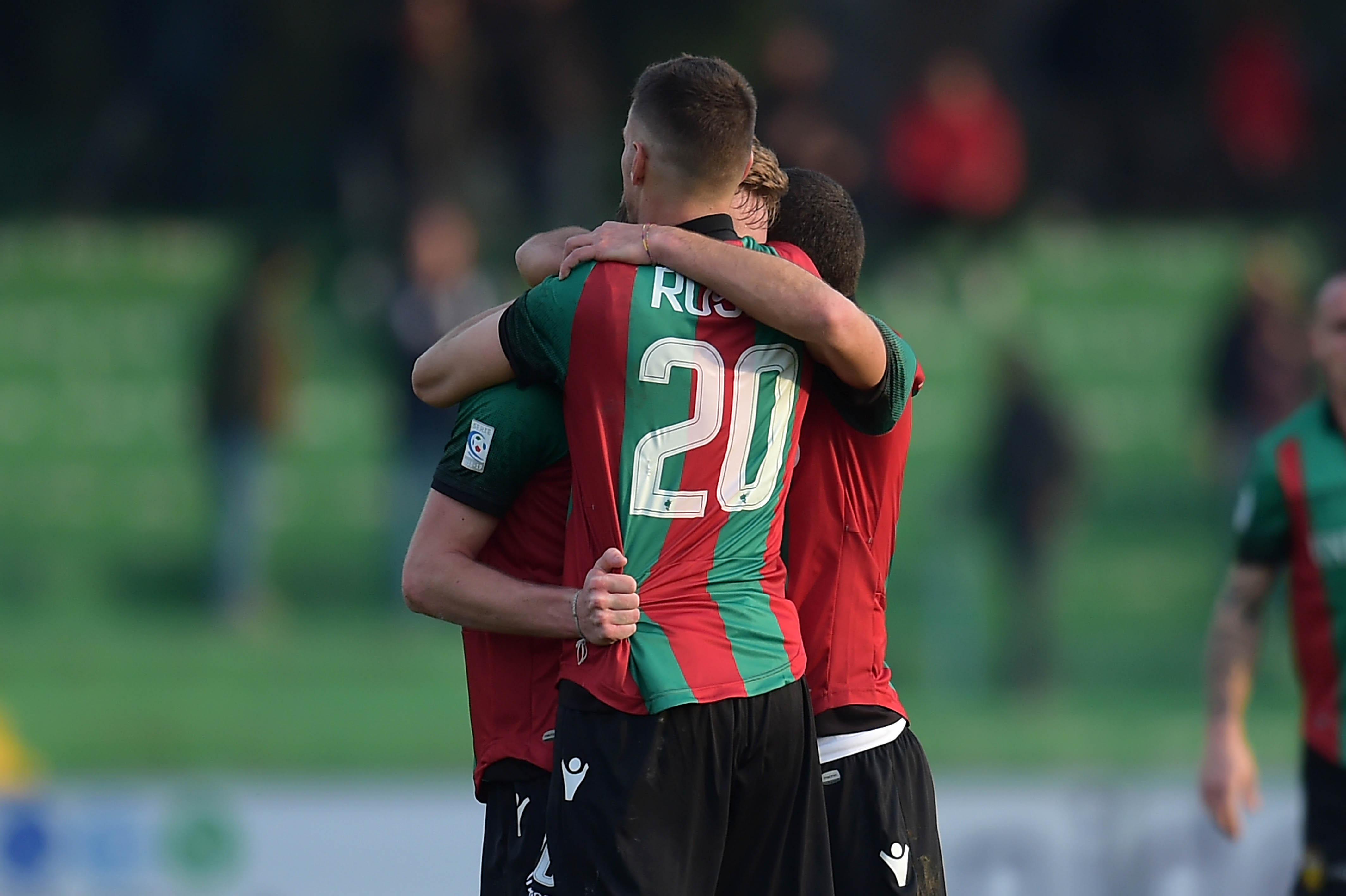ternana virtus verona lega pro esultanza secondo gol pobega