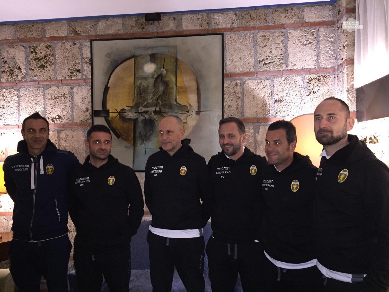 Fabio Gallo e staff tecnico
