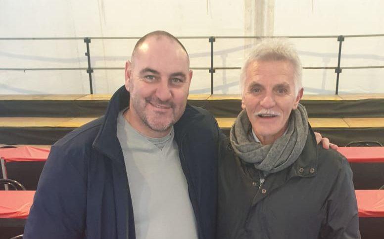 Riccardo Zampagna e Dominici Presidente San Giovanni Bosco
