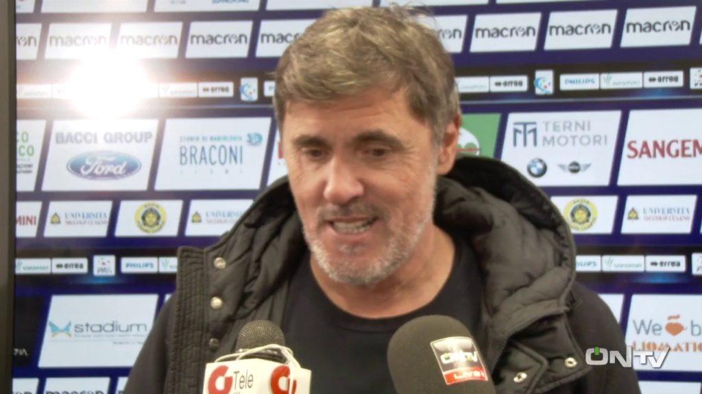 Lega Pro Ternana-Virtus Verona, Alessandro Calori'Dobbiamo ragionare da squadra'