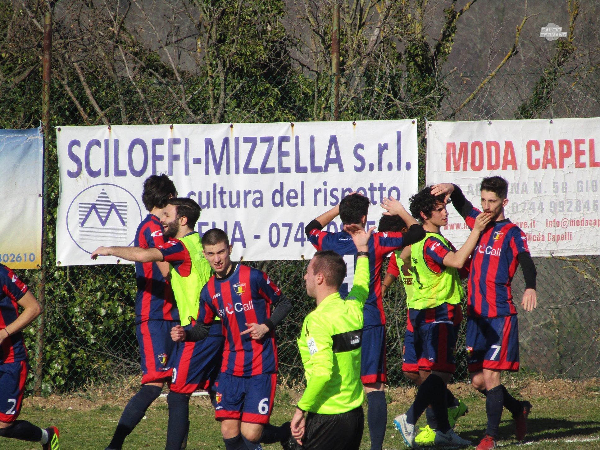 giove-campitello promozione umbria girone b fabris esultanza