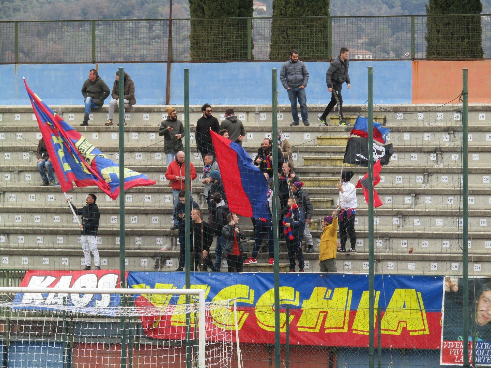 Narnese-Sansepolcro 2-4, sconfitta in rimonta per il rossoblù