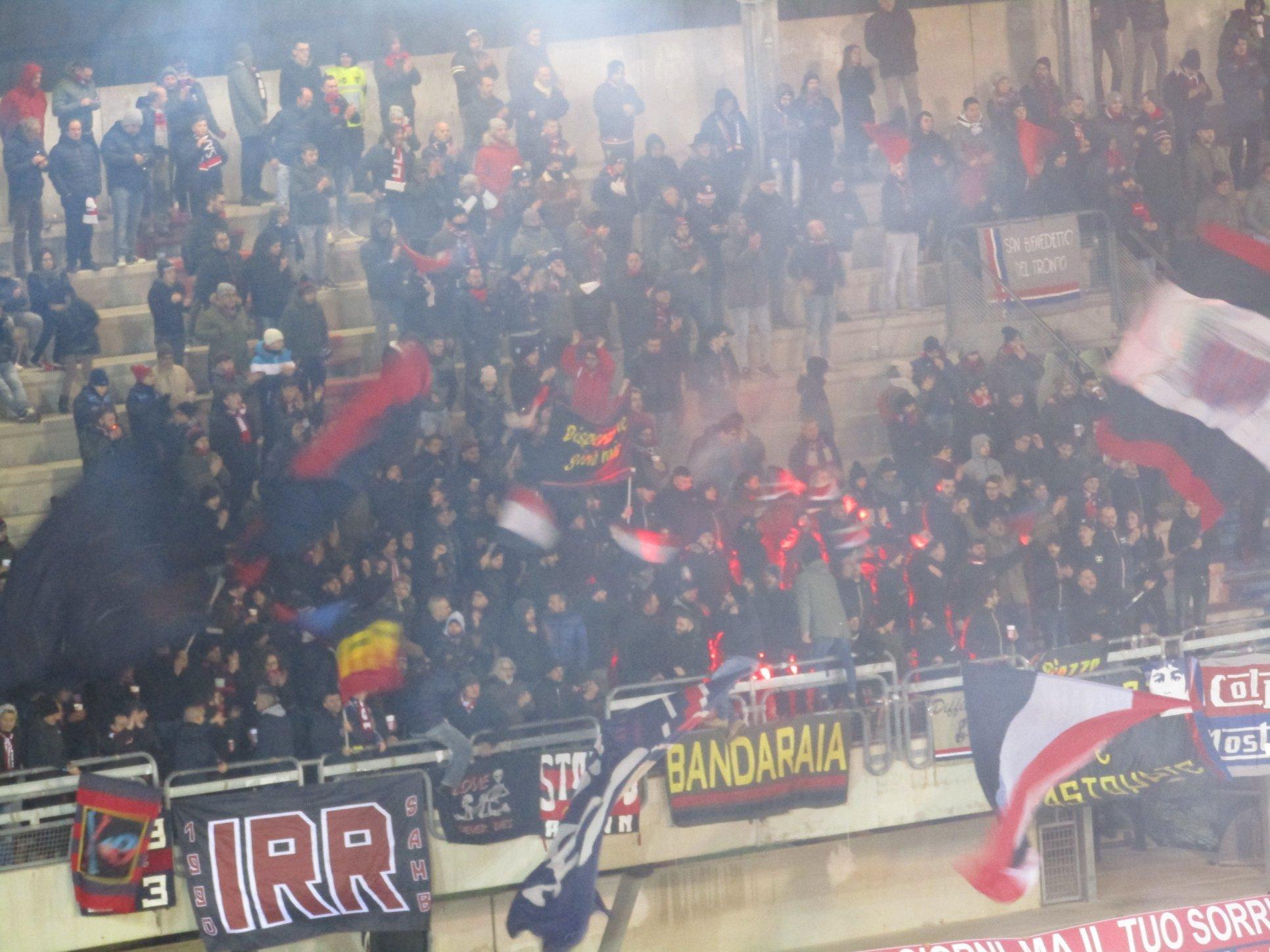 Lega Pro Sambenedettese-Ternana, multata la società marchigiana