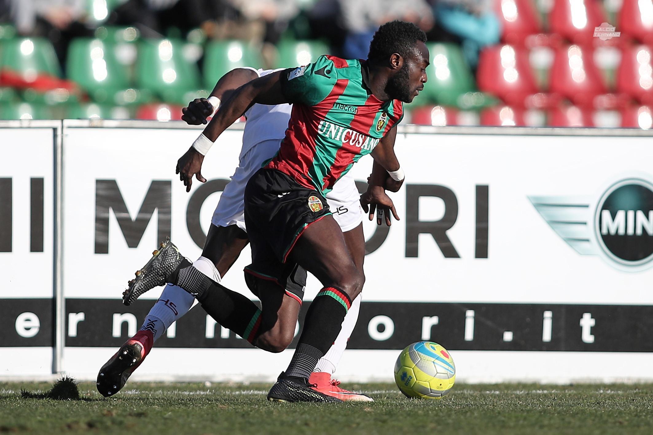 Kingsley Boateng in azione