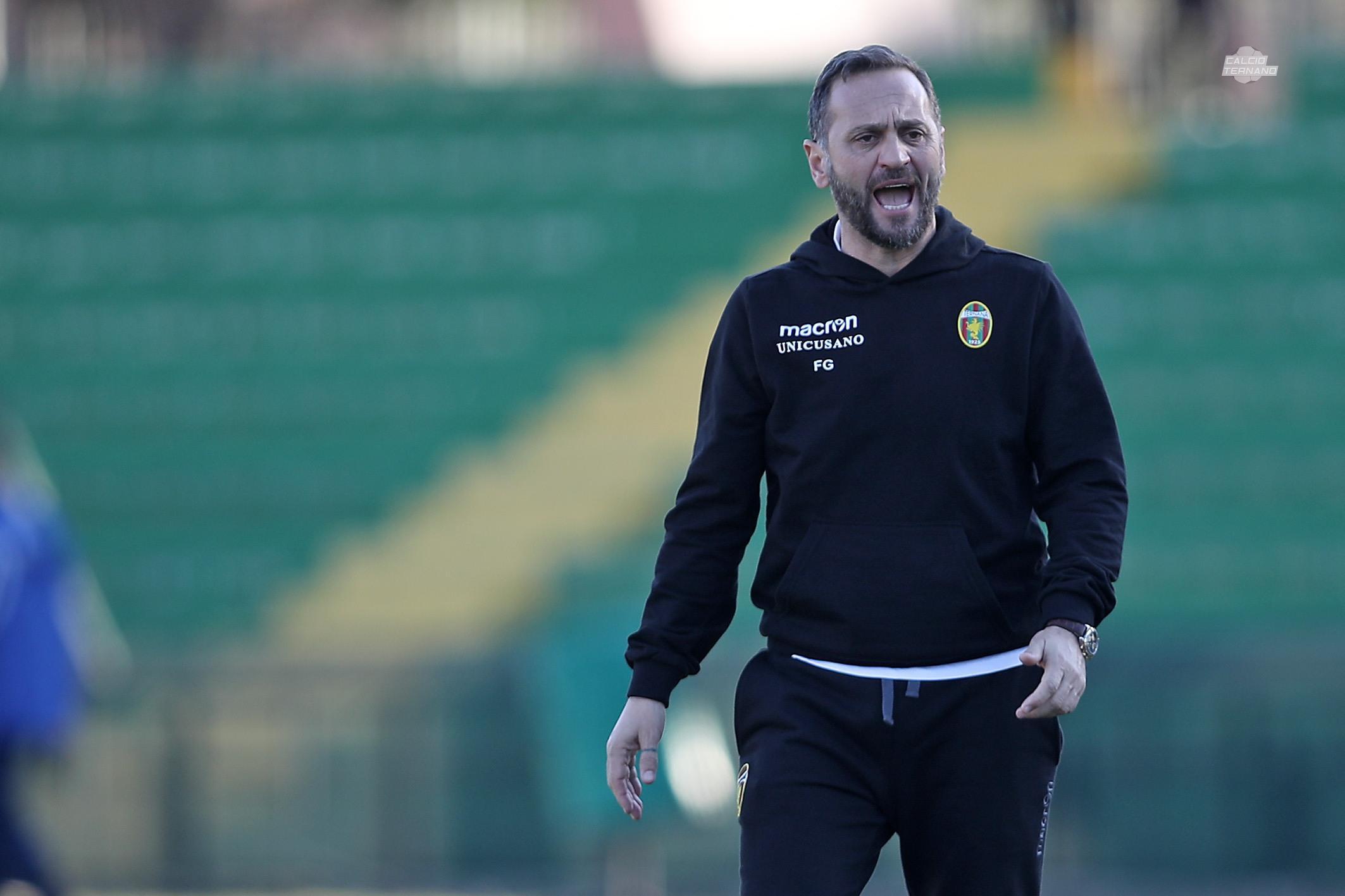 Lega Pro Sambenedettese-Ternana, Fabio Gallo 'Proseguiremo il ritiro'