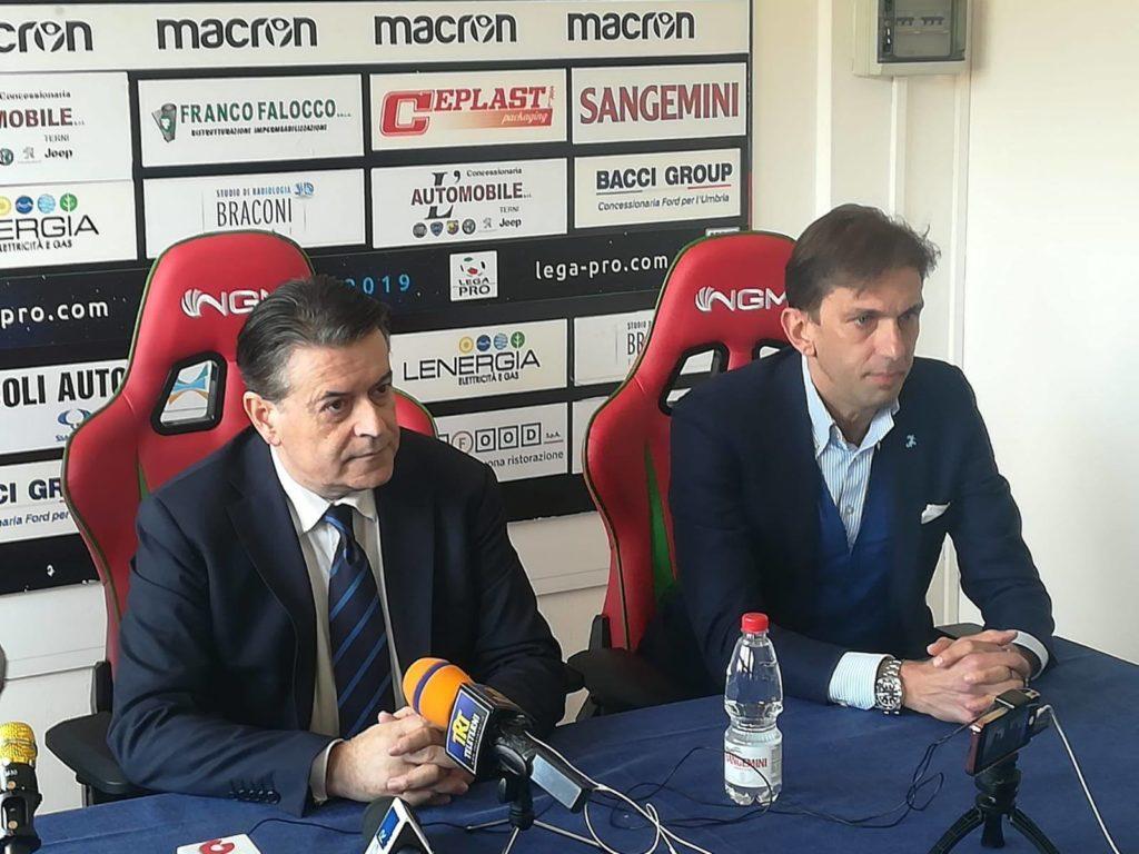 Ternana, Stefano Bandecchi 'Non sono arrabbiato con i cittadini ternani'
