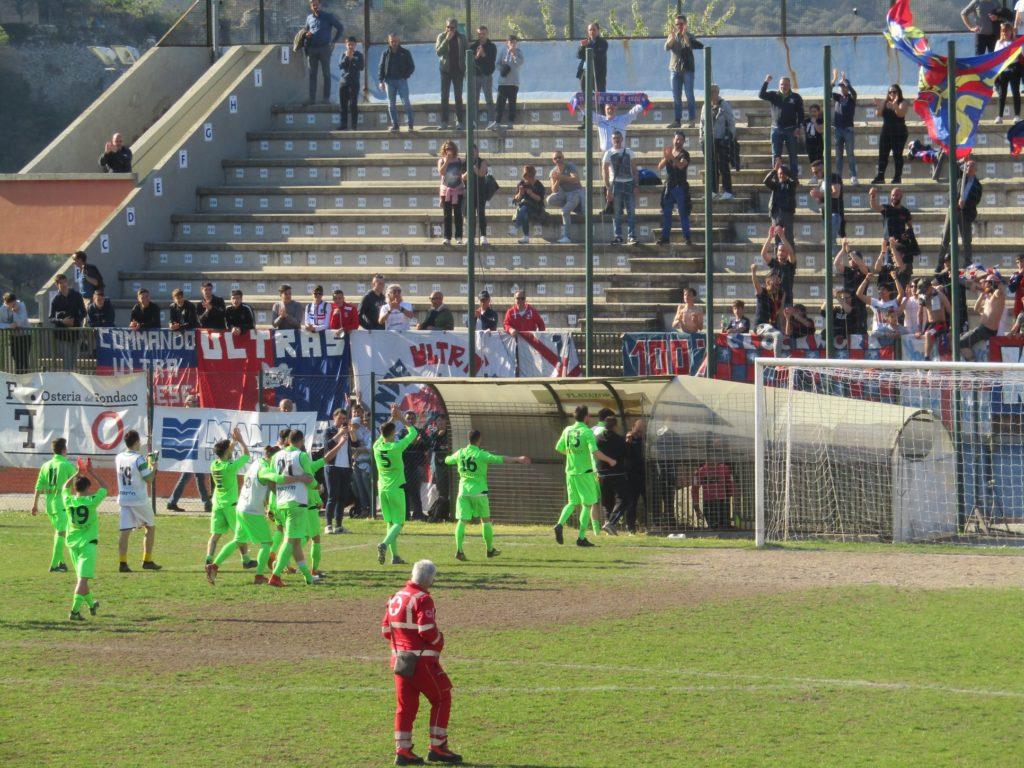 Narnese-Orvietana 0-2, i biancorossi avanzano in Coppa Italia