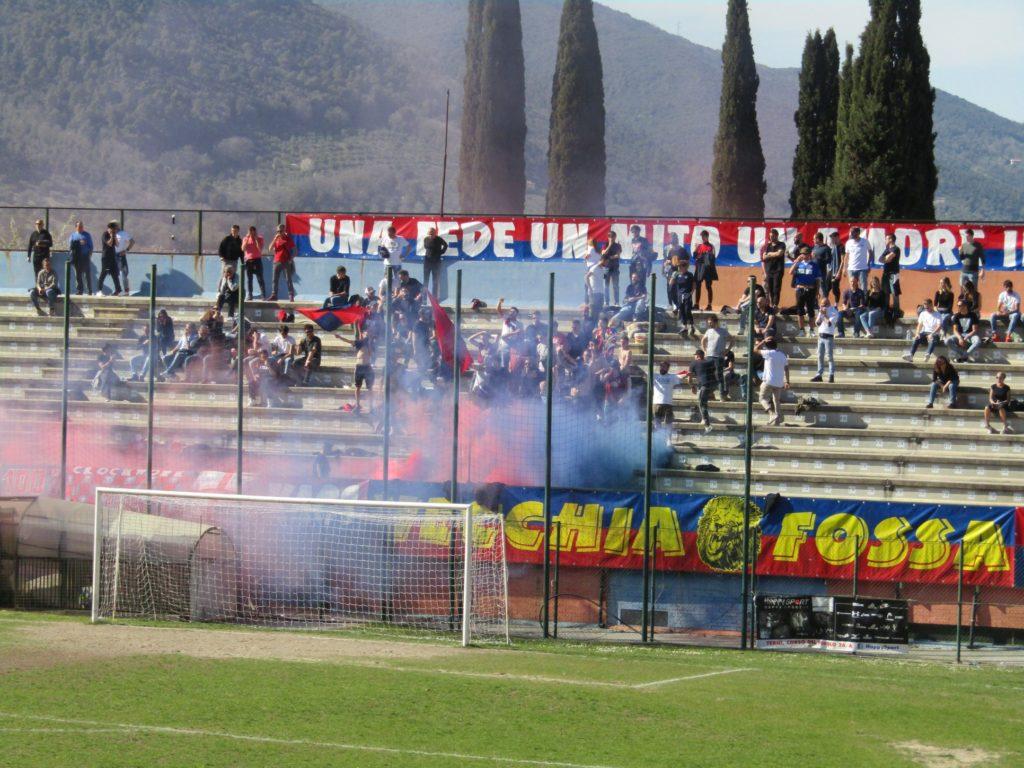 Spoleto-Narnese, il popolo rossoblù crede nei play off