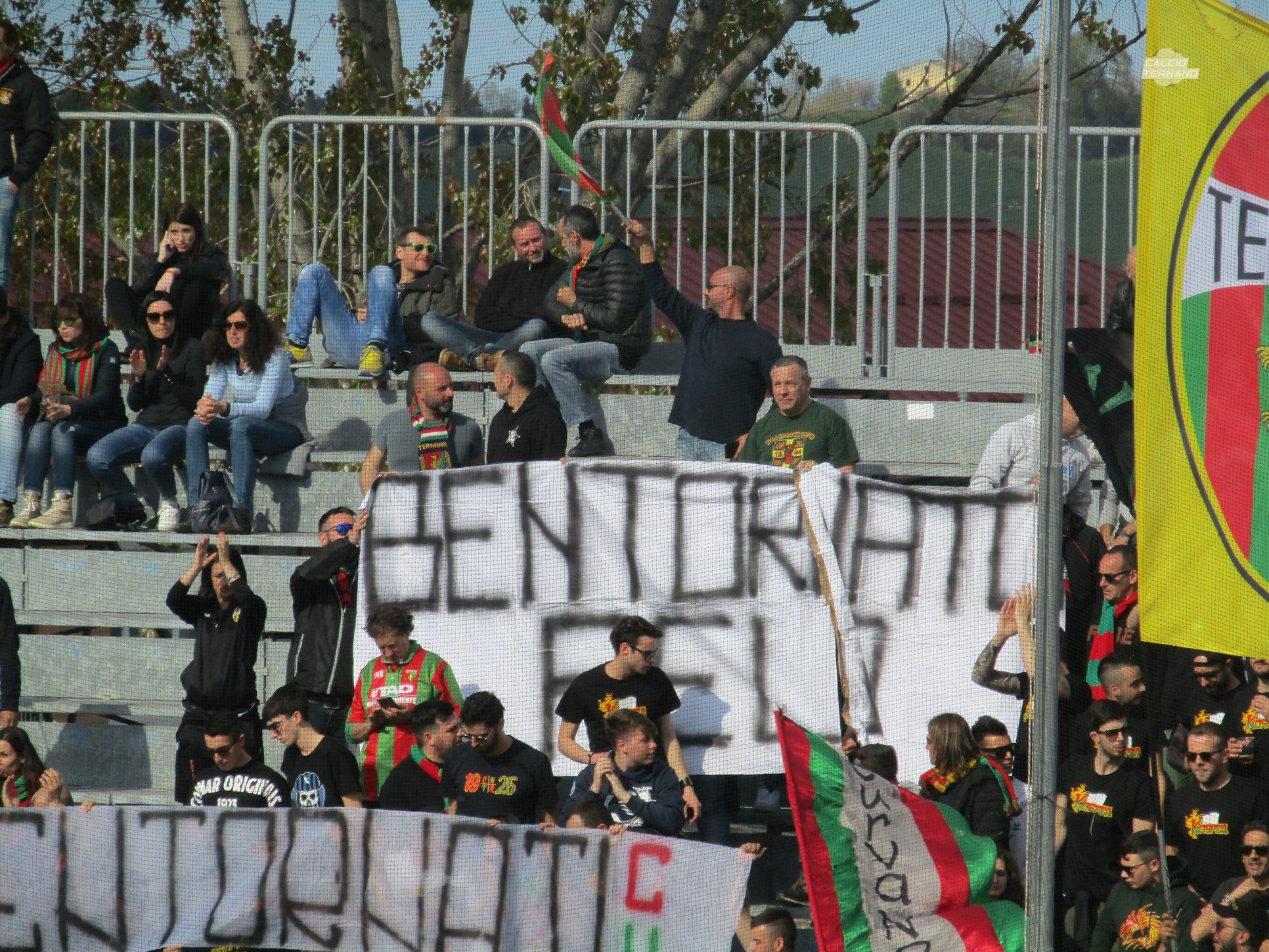 Lega Pro Teramo-Ternana, i tifosi rossoverdi organizzano la trasferta