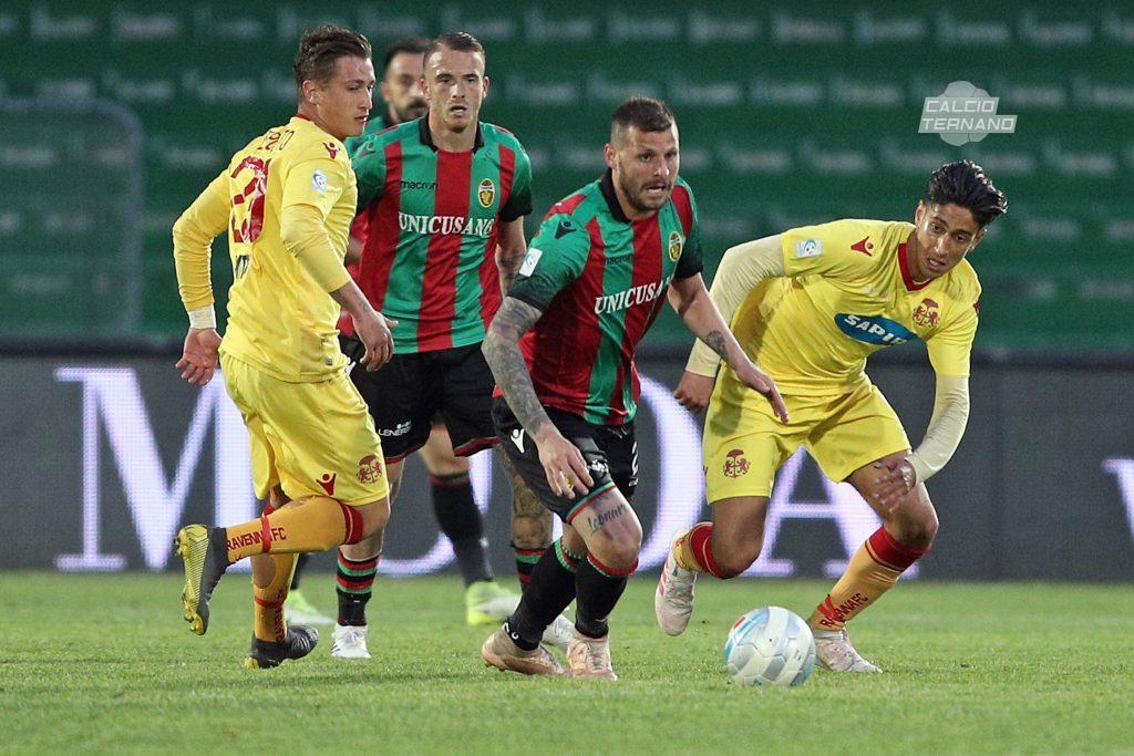 Ternana, gli avversari dei rossoverdi per gli eventuali play off