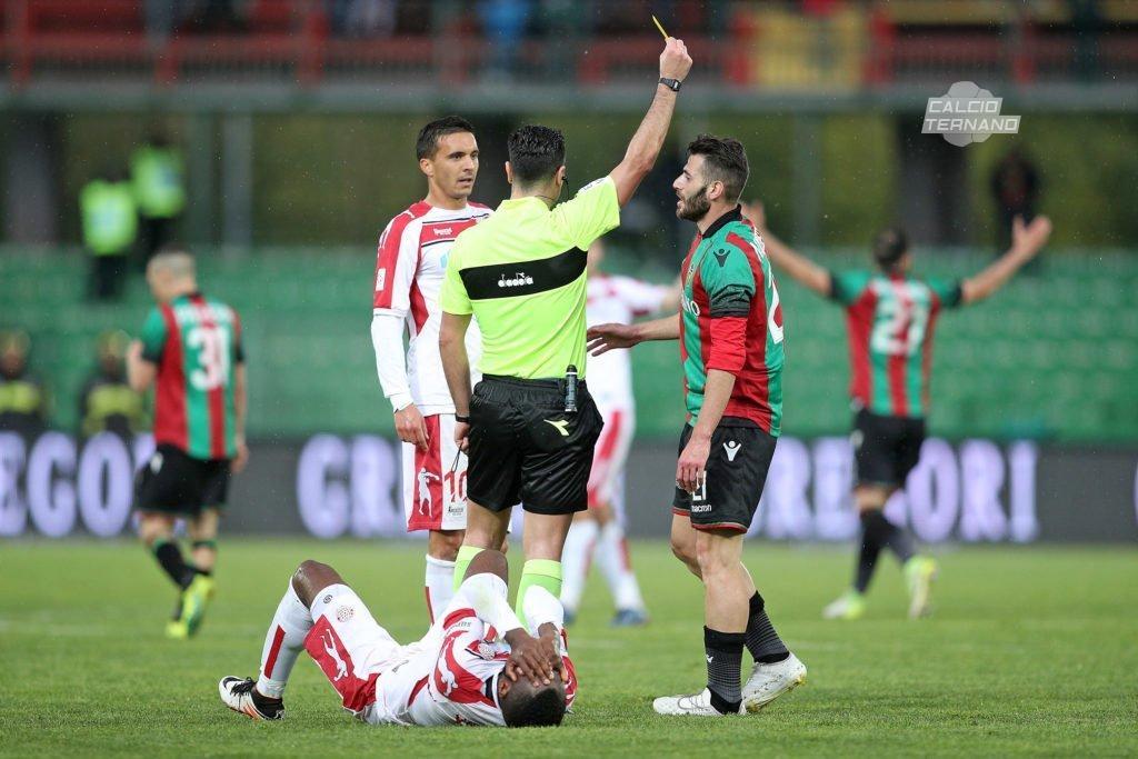 Calciomercato Ternana, Francesco Nicastro si allontana dai rossoverdi