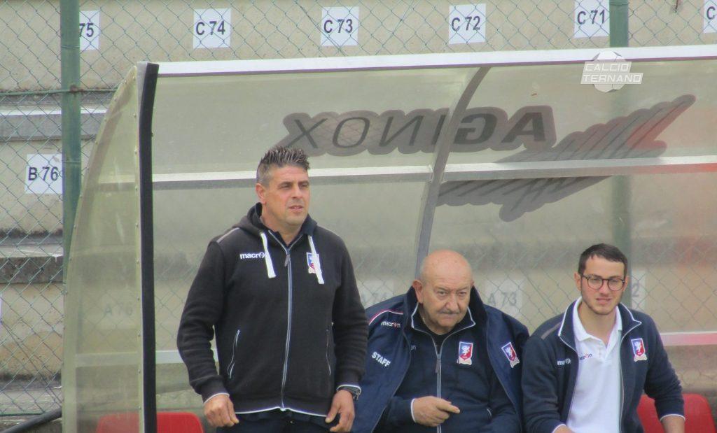 Narnese, Marco Sabatini 'Volevo chiudere da imbattuto'