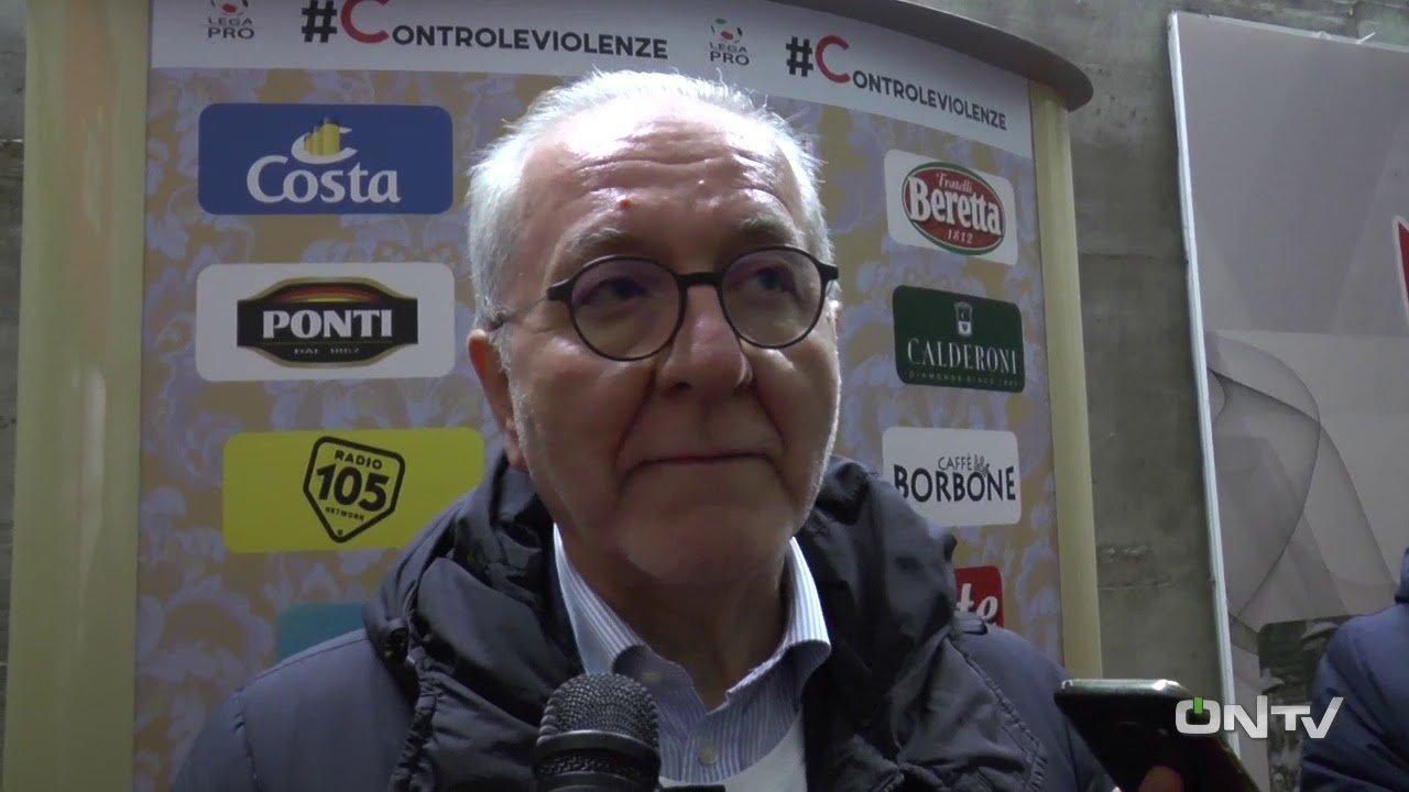 il presidente della Lega Pro Ghirelli
