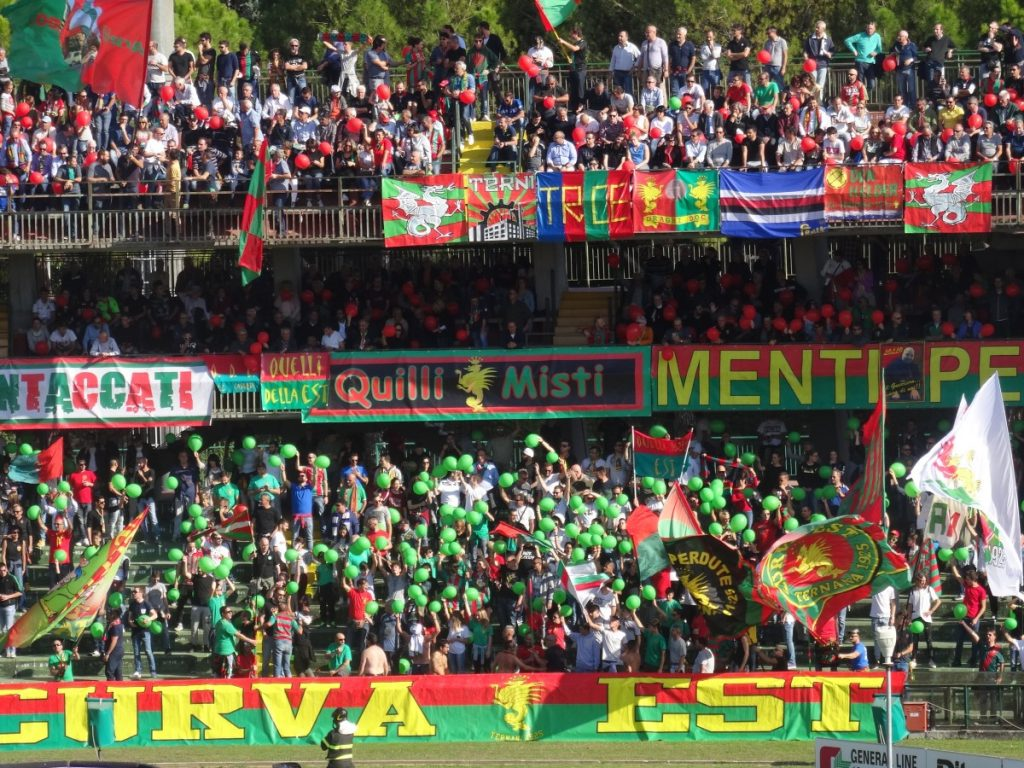 Ternana, i possibili gironi della Lega pro