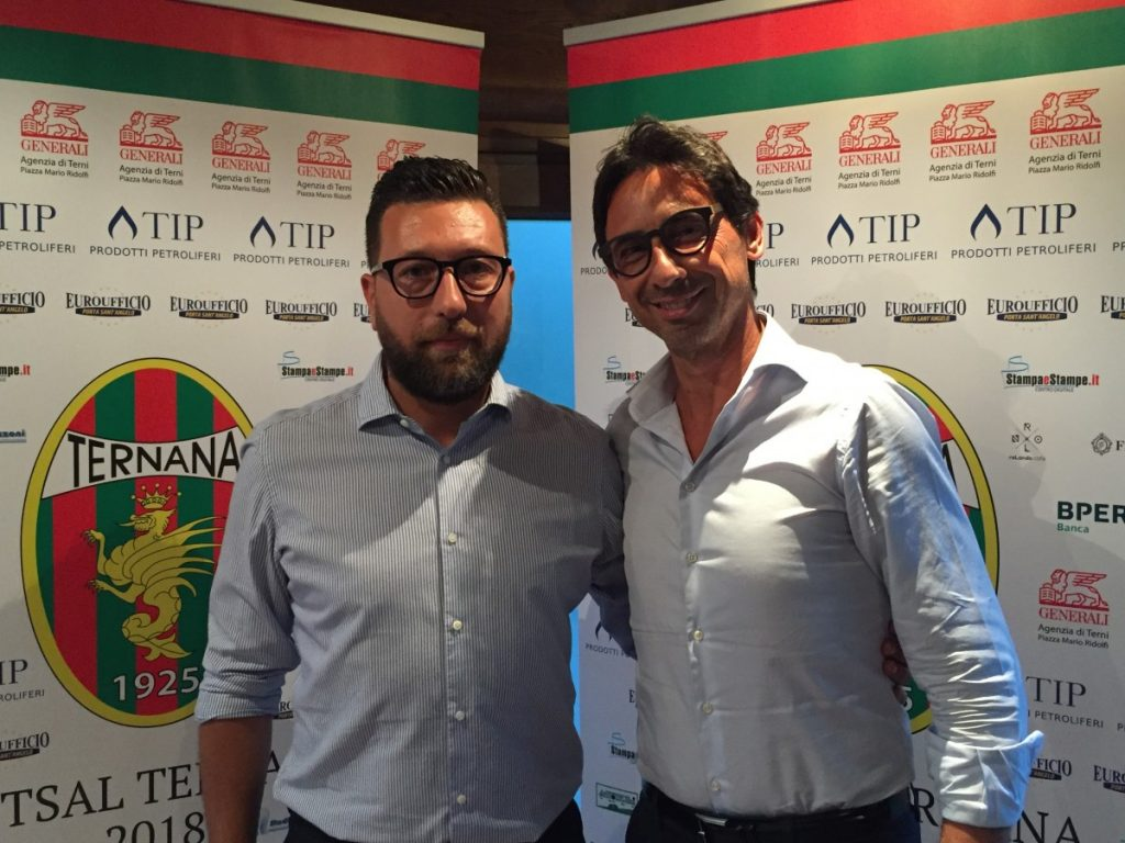 futsal ternana Alessio Pucci e Luca Palombi