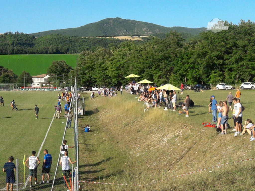 Ternana, i tifosi rossoverdi a Cascia: entusiasmo ed incitamento per le Fere