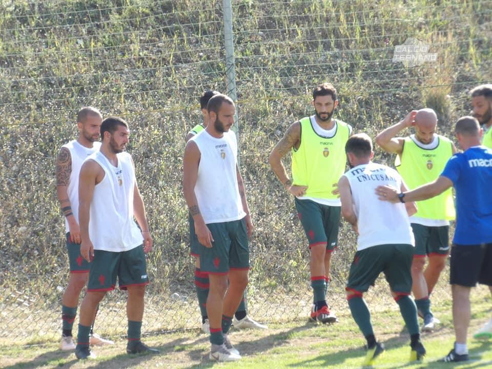 Ternana-Cascia, gli highlights del match