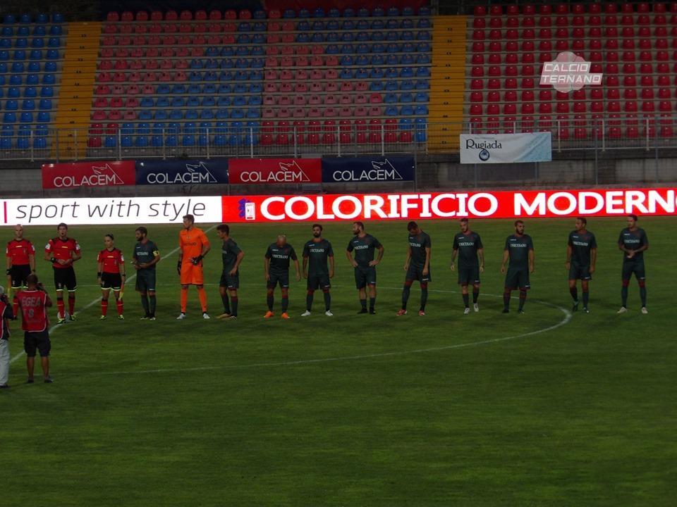 Rieti-Ternana, la designazione del match di Coppa Italia