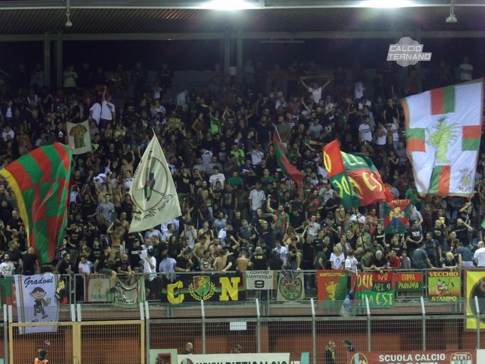 Lega Pro Girone C Ternana-Potenza, pubblico delle grandi occasioni per il debutto