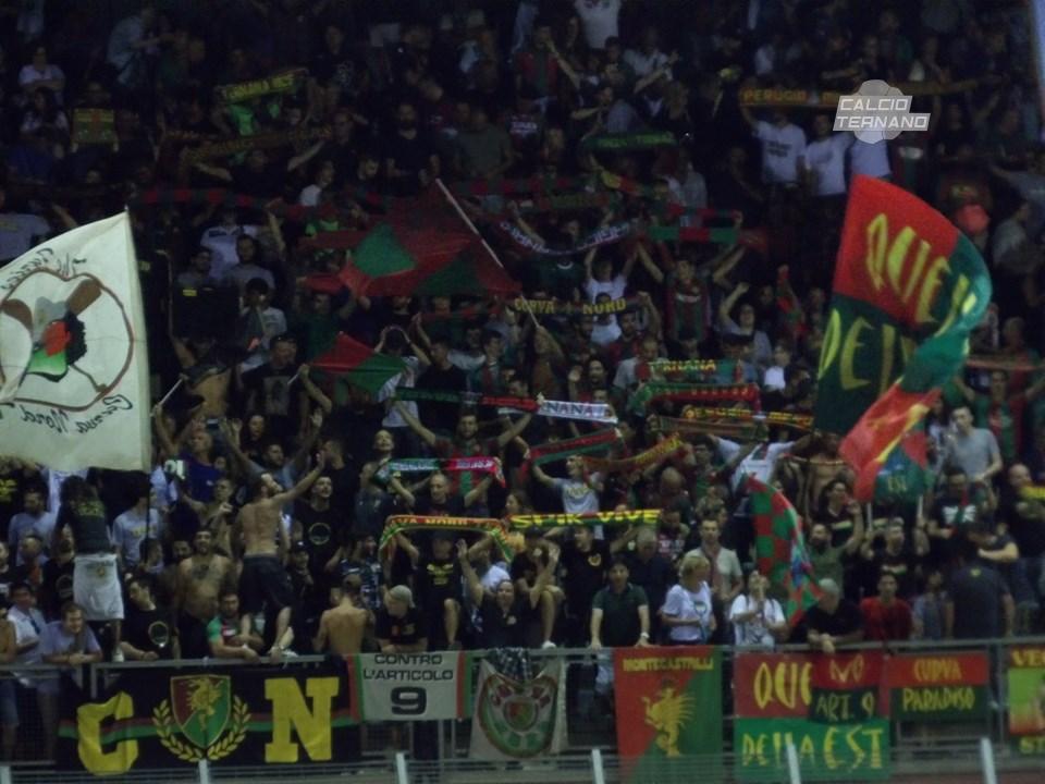 Teramo-Ternana ufficiale, il dato attuale dei biglietti venduti ai tifosi rossoverdi