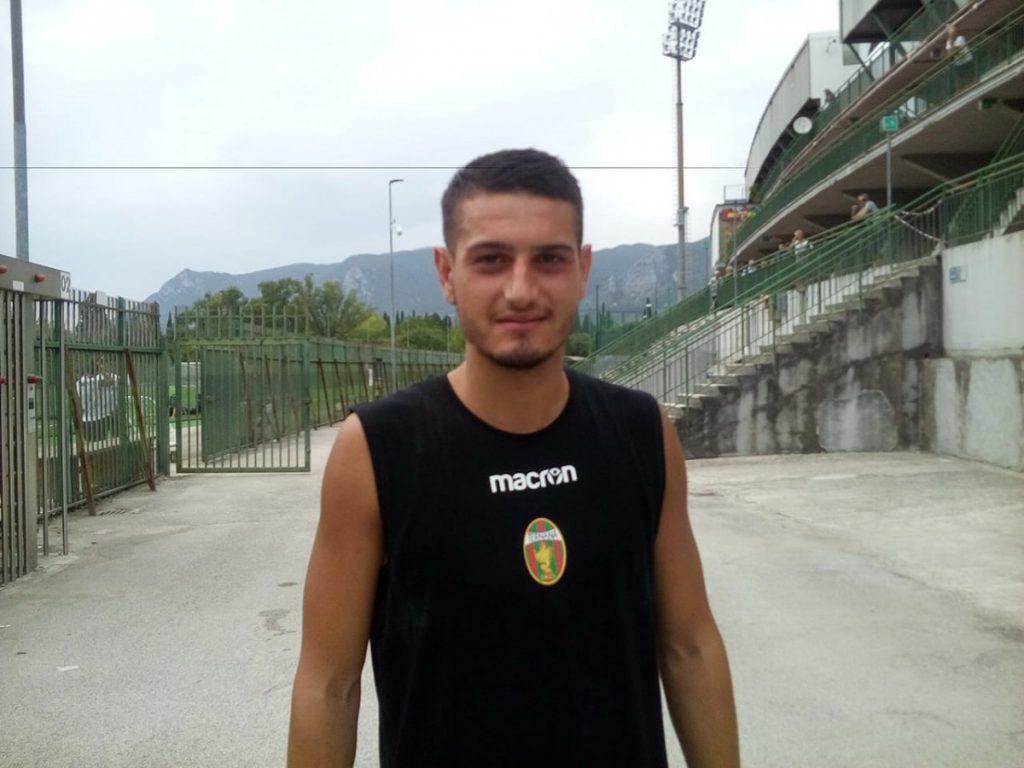 Ternana, primo allenamento per Anthony Partipilo