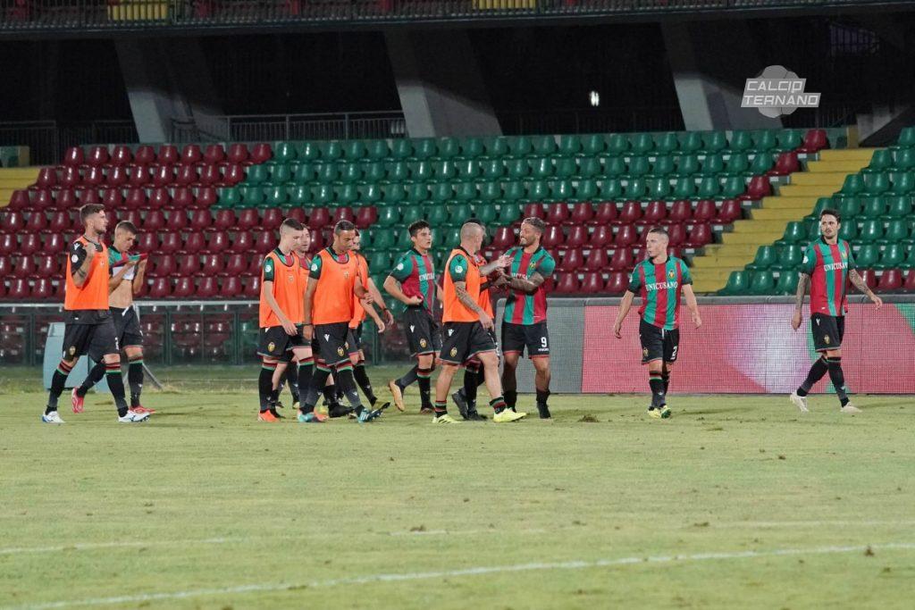 Ternana, ai rossoverdi basta il pari per passare il turno di Coppa Italia