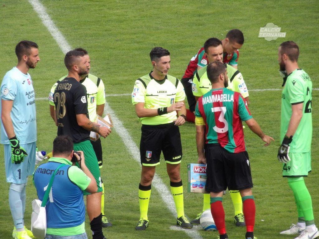 Sicula Leonzio-Ternana, un arbitro di esperienza per il match