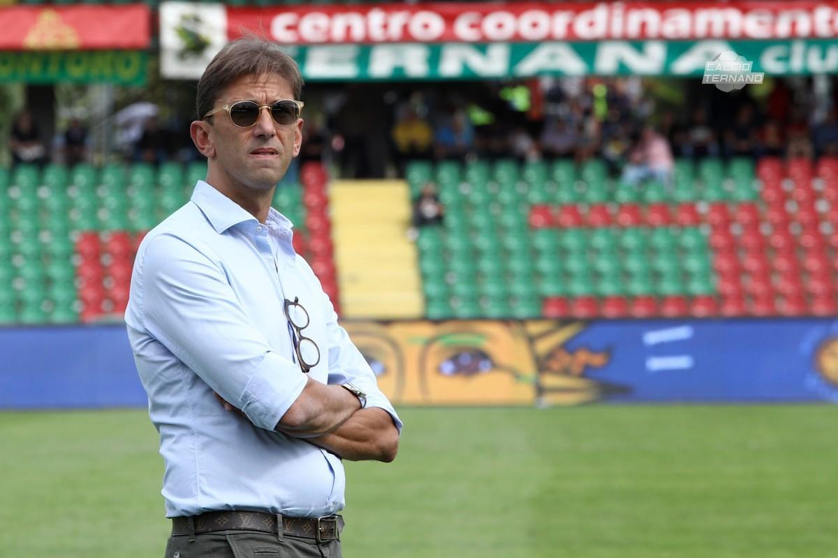 """Ternana, Paolo Tagliavento: """"Non ci possiamo nascondere: lottare per la vittoria finale"""""""