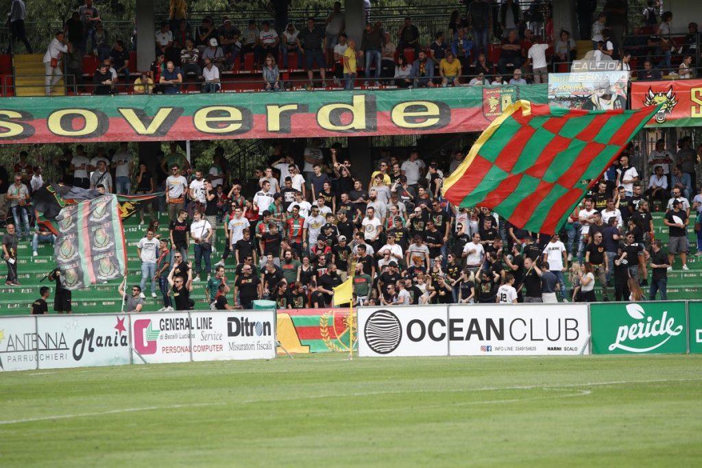 Ternana-Catania, l'invito ai tifosi rossoverdi
