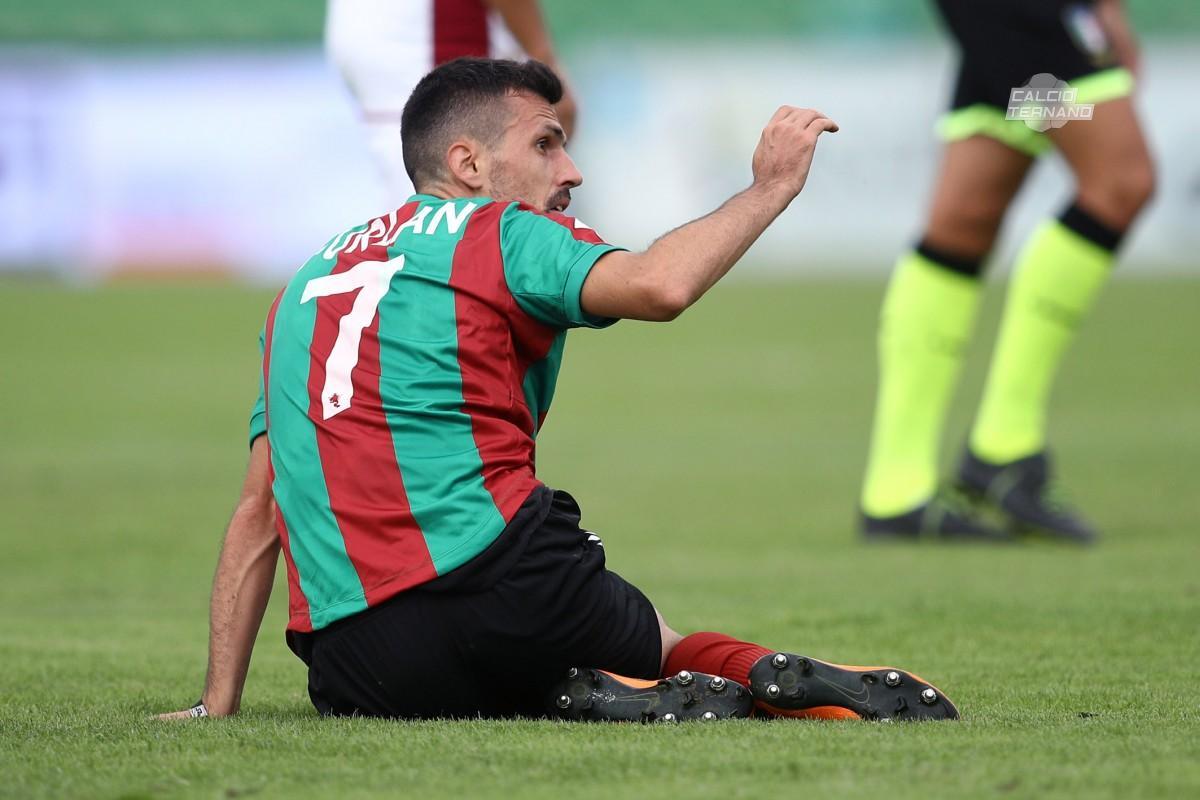 Il calciatore della Ternana Federico Furlan