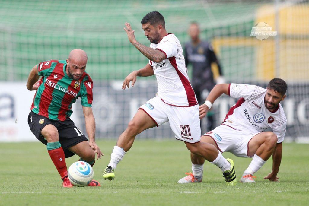Ternana, Luca Parodi in dubbio per il match infrasettimanale