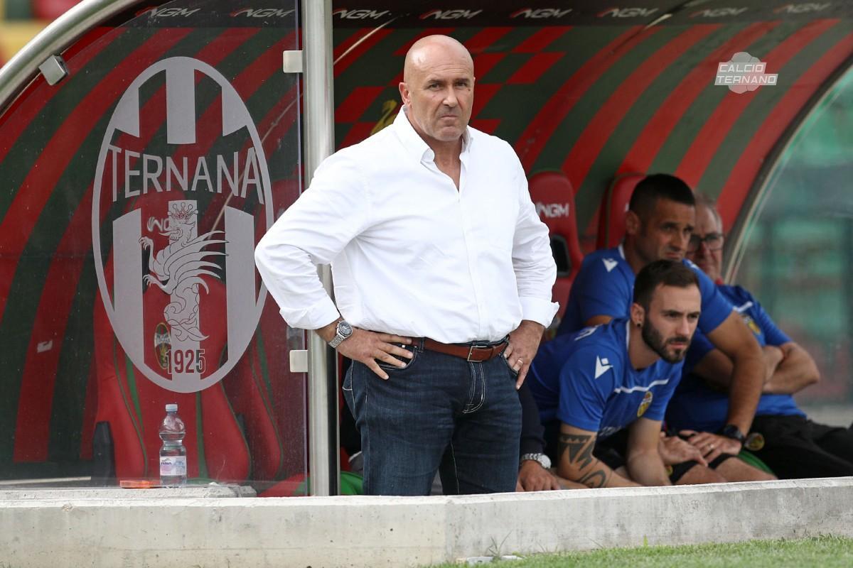 Il presidente della Ternana Stefano Bandecchi