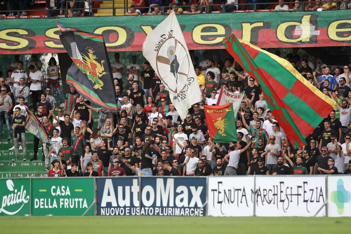 Virtus Francavilla-Ternana, dato definitivo biglietti venduti ai tifosi rossoverdi
