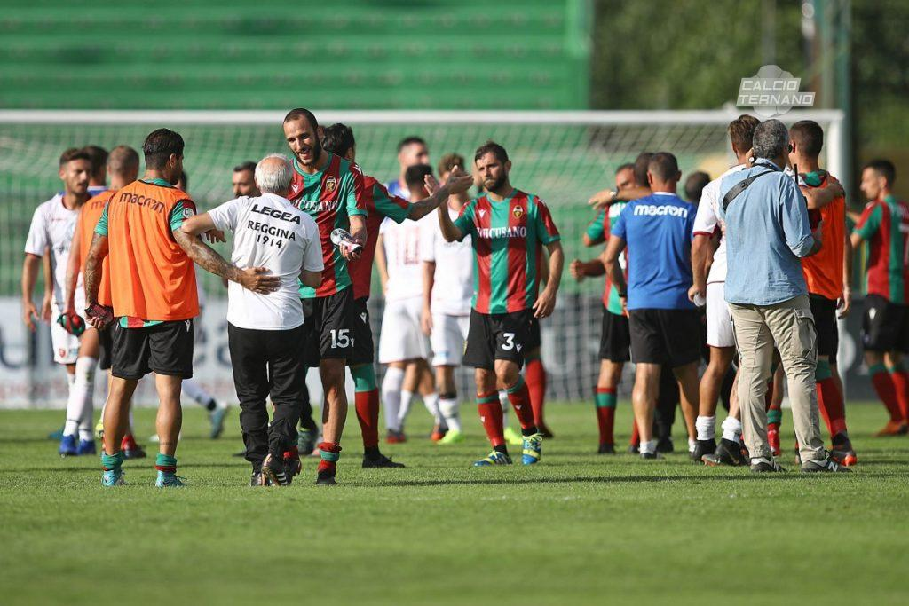il post partita tra Ternana e Reggina